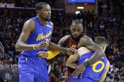 Los Cavaliers superan a los Warriors en la revancha de las últimas Finales