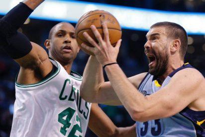 Un Marc Gasol 'All Star' cae ante los Celtics y Abrines juega minutos de calidad