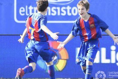 El Barcelona golea al Atlético de Madrid (6-1) y conquista el torneo 'LaLiga Promises'