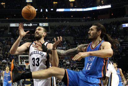 Marc Gasol y los Grizzlies desarbolan a los Thunder de Abrines