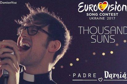 El padre Damián, preseleccionado para Eurovisión