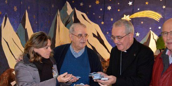"""La Pastoral Penitenciaria de Aragón regala """"minutos de esperanza"""" a los presos de Zuera"""