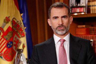 El Rey da un tirón de orejas a los independentistas catalanes y a Podemos; pide que no agiten viejos rencores