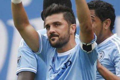 David Villa, nombrado Mejor Jugador de la Liga estadounidense
