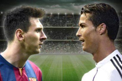 Cristiano Ronaldo aparece en los Clásicos Barça-Real Madrid más que Messi
