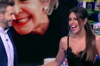"Cristina Pedroche se la ""mete doblada"" a Frank Blanco en 'Zapeando'"