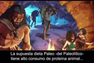 La verdadera dieta Paleo tenía más vegetales de lo que crees