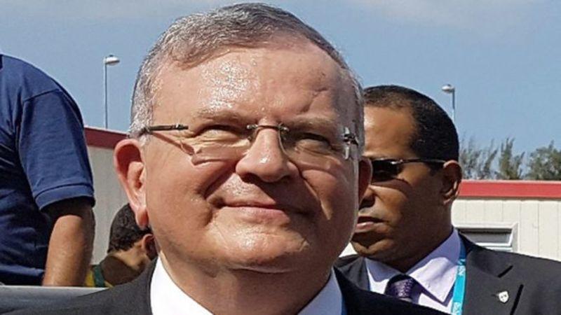 Fue la mujer del embajador griego en Brasil la que organizó con su amante el asesinato del diplomático