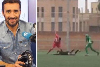 Un valiente Juanma Castaño se despacha contra los cafres que agreden a los árbitros