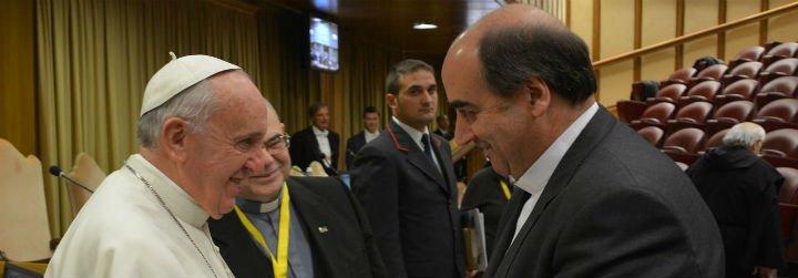 """El Papa pide a los escolapios ser """"auténticos maestros"""" para """"acompañar en el viaje de la vida"""" a niños y jóvenes"""
