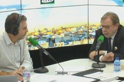 """Alsina y Cebrián, a cara de perro en Onda Cero: """"Ni siquiera yo he pedido venir a esta entrevista, ha sido cosa de la editorial"""""""