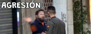 [VÍDEO] El hostión del cabreado repartidor al faltón 'youtuber' ... no es de broma