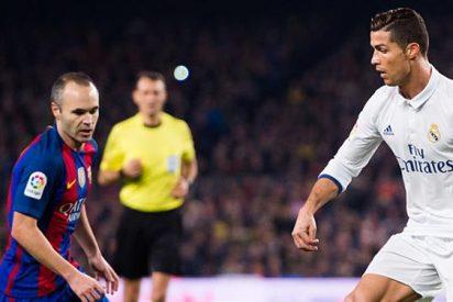 Andrés Iniesta saca los colores a Luis Enrique