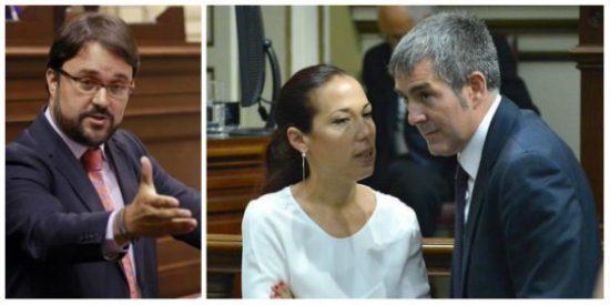 Un ataque de cuernos pone al Gobierno de Canarias al borde del divorcio