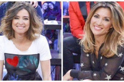 Durísima bronca callejera entre Sandra Barneda y su novia Nagore Robles