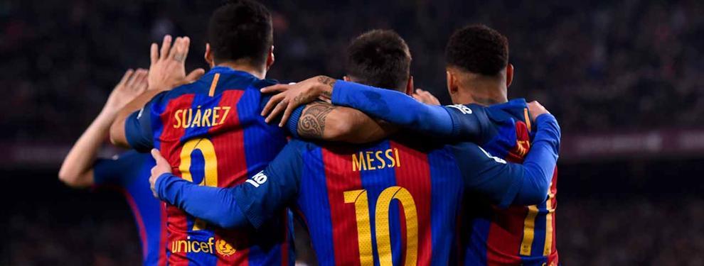 ¡Bomba! La directiva del Barça quiere cargarse un crack en verano