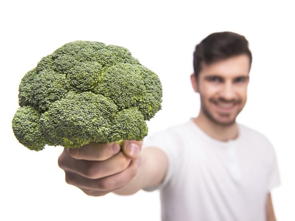 Pizza con brócoli