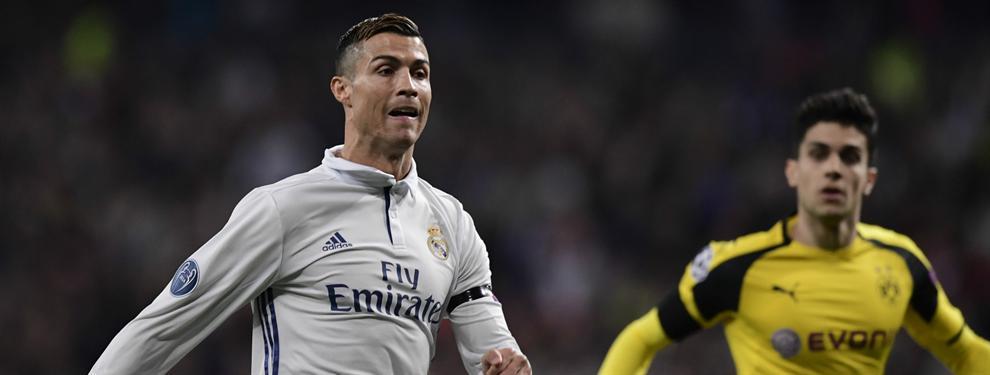 ¡Broncazo de Zidane a Cristiano Ronaldo! (Y una reprimenda que no se vio)