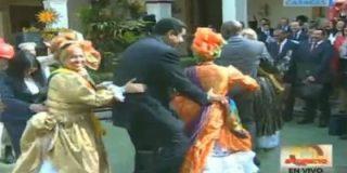 Con esta marcha sin freno hace Maduro el 'trenecito' mientras descarrila Venezuela
