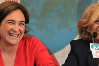 Ada Colau y Manuela Carmena debaten con el Papa el futuro de las grandes ciudades europeas