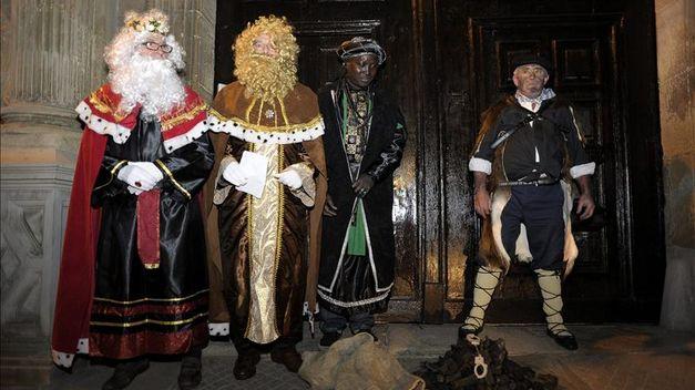 El Arzobispado de Pamplona recibe carbón