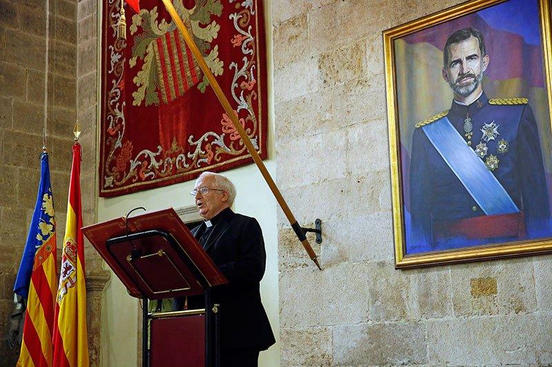 El cardenal Cañizares participa en la lectura de la Constitución