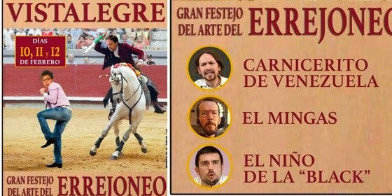 El 'meme' definitivo sobre Vistalegre II: Iglesias banderillea a Errejón en el arte del 'Errejoneo'