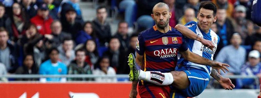 Confidencial: ¿El penúltimo derbi para Javier Mascherano en el Barça?
