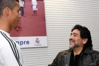 """""""Creo que Messi y Cristiano Ronaldo superaron a Diego Maradona"""""""