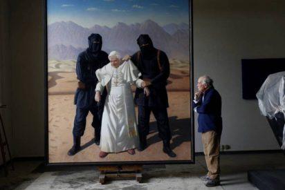 """Cristóbal Toral pinta el """"secuestro"""" de Benedicto XVI por yihadistas"""