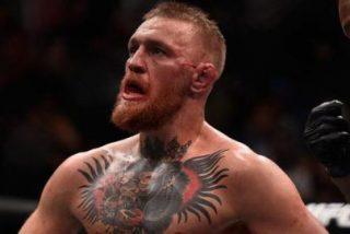 """""""Cobarde"""": Publican el vídeo de Conor McGregor golpeando a un anciano por no aceptar un vaso de whisky"""