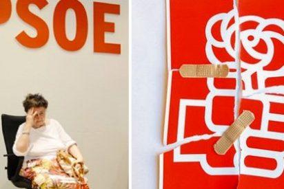 El PSOE monta un circo y le crecen los enanos: malestar en los trabajadores porque los décimos del Gordo eran regalados y no se repartieron entre todos