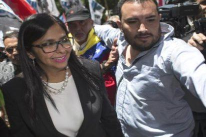 [VÍDEO] El patético intento de la canciller venezolana por entrar en Mercosur