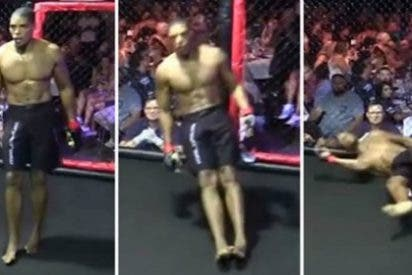 [VÍDEO] El luchador de artes marciales que casi muere en el ring tras una tunda