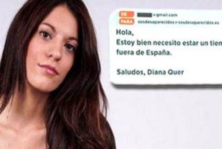 El correo firmado por Diana Quer fue enviado desde una cuenta personal de la joven