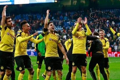Dortmund silenció el Santiago Bernabéu y ganó el grupo F