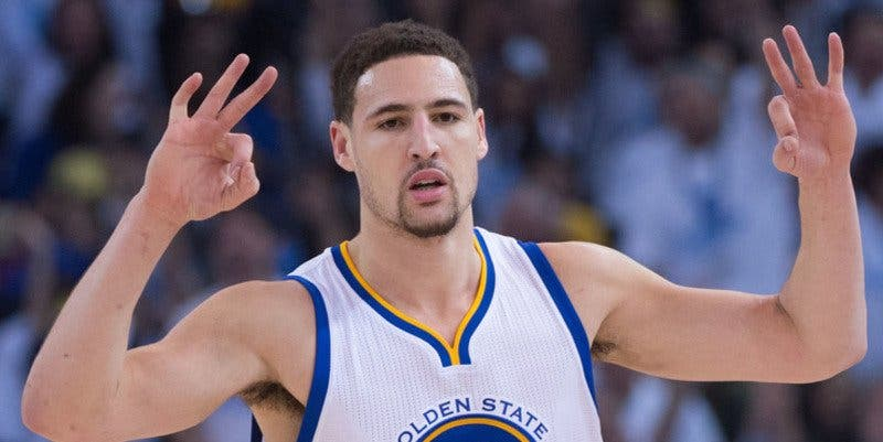 Klay Thompson hace historia en la NBA anotando 60 puntos en 29 minutos