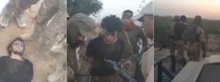 Así ejecutan las milicias chiitas al terrorista del DAESH que quería inmolarse