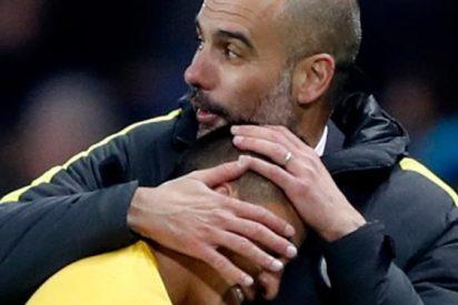 El abrazo entre Guardiola y Alexis Sánchez que incendia la Premier League