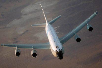 El Boeing RC-135V/W Rivet Joint americano, rompe las comunicaciones del ISIS mientras vuela