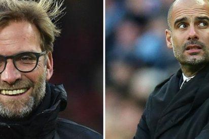 El cachondeo de Jurgen Klopp en Liverpool a costa de Pep Guardiola