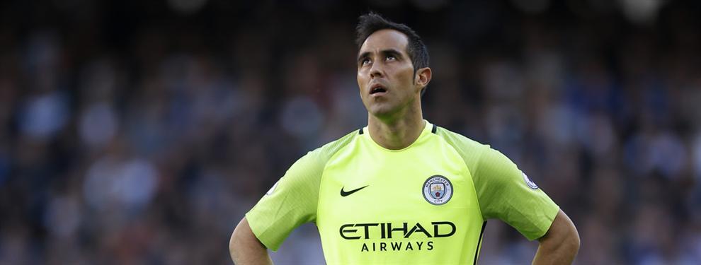 El City negocia un cambio de cromos a espaldas de Claudio Bravo