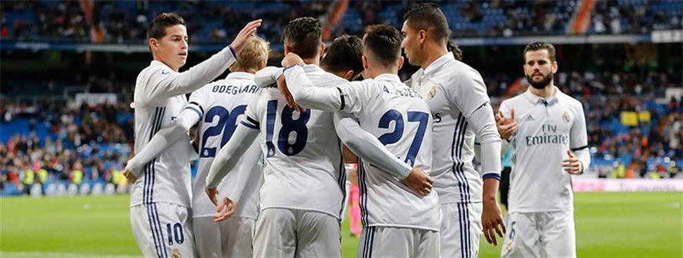 El nominado a salir del Real Madrid en cuanto pase la sanción FIFA
