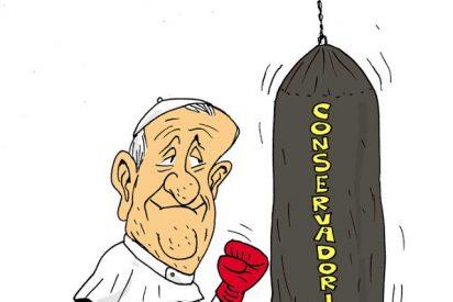 En 2017, se agravará la confrontación en la Iglesia