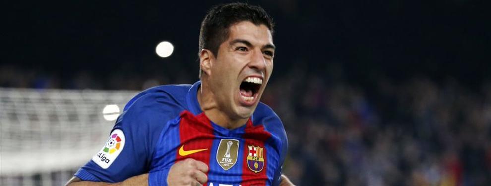 El 'regalo' especial que el Barça le ha preparado a Luis Suárez