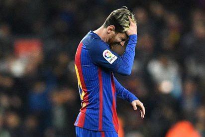 El tremendo cabreo de Leo Messi tras el Clásico