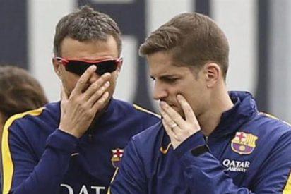 El último gran rebote de un jugador del Barça con Luis Enrique