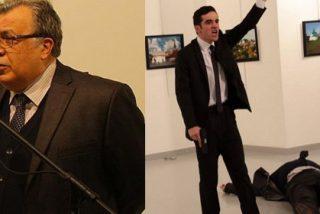 """Asesinado a tiros el embajador ruso en Turquía, Andrei Karlov, al grito de """"no olvidéis Alepo"""""""