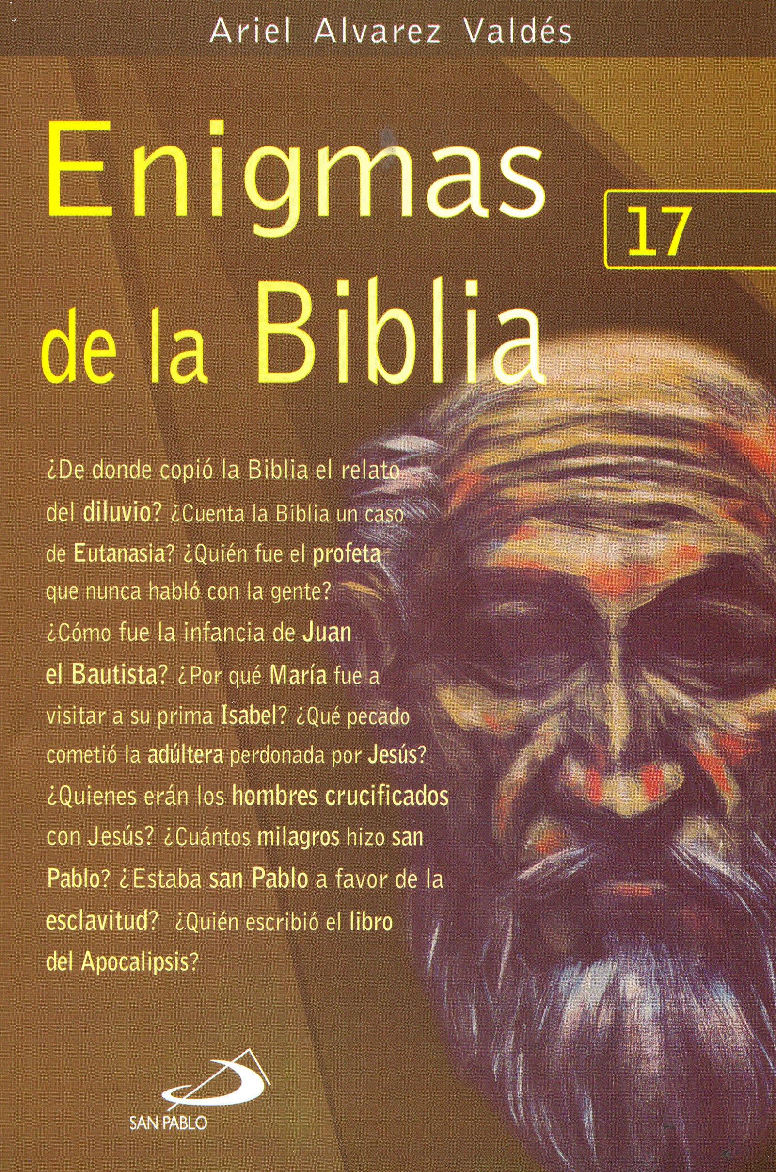 Nuevo libro del biblista Ariel Álvarez Valdés