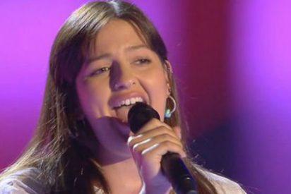 """¡Susto en 'La Voz'!: A una concursante """"se le va la olla"""" en plena actuación"""